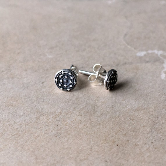Tiny Studs | Small Silver Earrings | Post Earrings