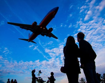 Coming In For Landing - Washington, D.C.