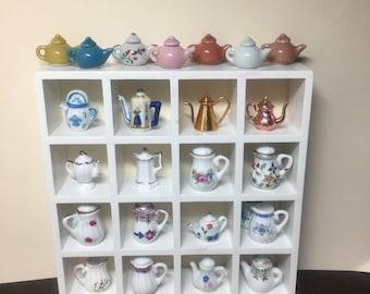Miniature Dollhouse Teapots/Coffee Pots/Pitchers - sold separately