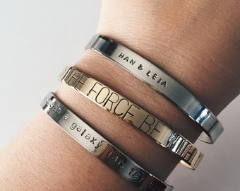 Star Wars Quote Bracelet