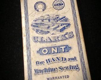 Vintage Clark Sewing Threads