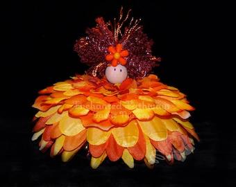 Suzie the Flower Petal Faerie, Fairy, OOAK
