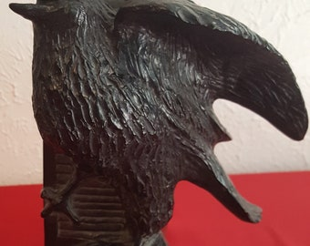 A.LASS Raven Acrylic Bookend