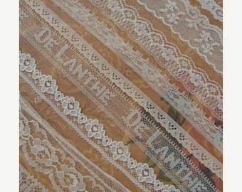 ONSALE Vintage and Antique Lace Lot N024 9 Yards