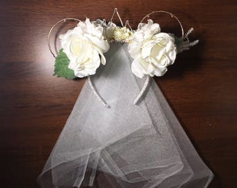 Light-up Bride Mickey Mouse Ears