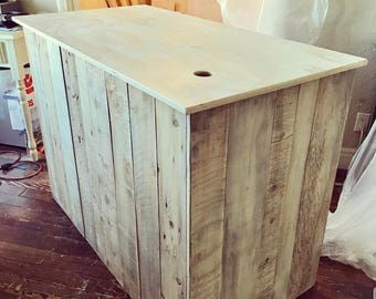 L Shaped Cash Wrap Counter Or Desk