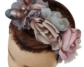 Flowerful Headband with Swarovski Crystal!