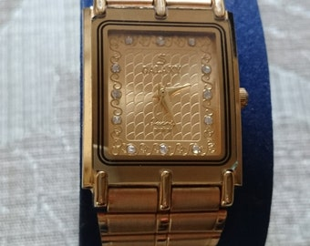 Quartz movement GALAXY Watch 24K Gold Electro Plated                                                                            .