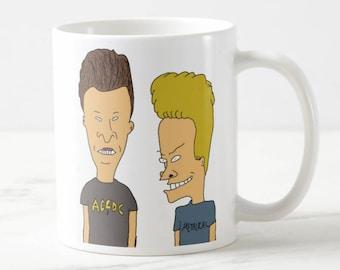 Beavis and Butthead Mug - Funny mug - Funny gift - Gift for her - Gift for him - Birthday mug