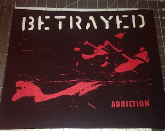 Betrayed back patch