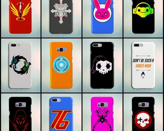 Overwatch Phone Cases (iPhone/Samsung/Google) (See Gallery for more!)