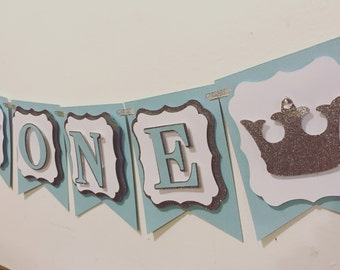 Prince photo prop, high chair banner, banners
