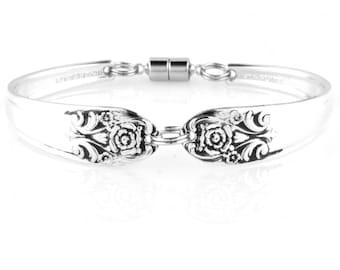 Spoon bracelet, Melody,Silver spoon jewelry, Vintage bracelet, Spoon Jewelry, Silver bracelet, Handmade bracelet, Silver Spoon Bracelet