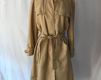 Misty Harbor Trench Coat with Zip Out Lining