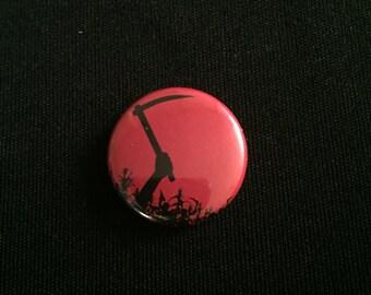 "Handmade Children of the Corn Stephen King  1"" Button Lapel Pin"