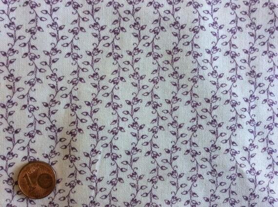 High quality cotton poplin printed in Japan, leaf print no1