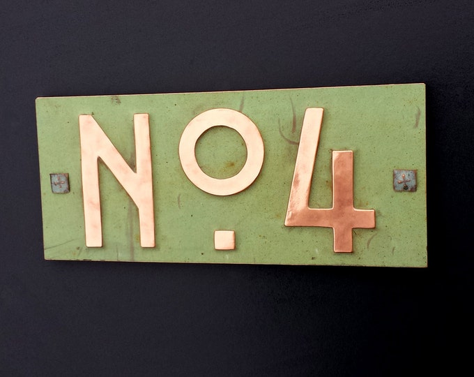 "Mission Mackintosh style 3""/75mm, 4""/100mm, with plywood back, custom made,  'No' with your 1 x number' g"