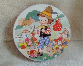 Vintage Mabel Lucie Attwell Tin