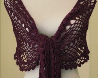 Crochet Pattern Petal Shawl