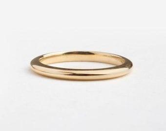 14k Gold Ring, Thin Gold Wedding Band Ring, Thin Gold Band Ring, Knife Edge Band, Simple Gold Band, Slim Wedding Ring, Dainty Wedding Ring