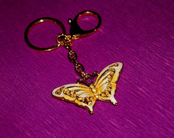 Keychain butterfly Butterfly keychain Butterfly gift Graduation gift Butterfly gifts Gifts for mum Insect keychain Insect keyring