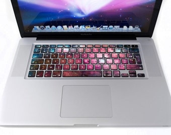 Keyboard for MacBook Galaxy stickers