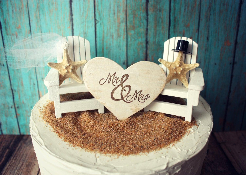 Adirondack Beach Wedding Chairs Chair Cake