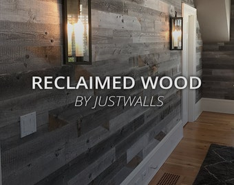 Reclaimed Wood Wall Paneling DIY 1/4 inch boards. Price per 40 Sq Foot. FREE SHIPPING!