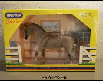 New in The Box! Vintage Breyer Classics Rose Grey Arabina No. 656 ~ Toy Horse ~ Breyer Collectible ~ Imagination Play!