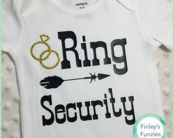 Clearance Custom wedding shirts ring security
