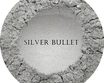 Loose Mineral Eyeshadow-Silver Bullet