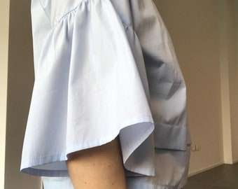 Pale blue shirt for woman