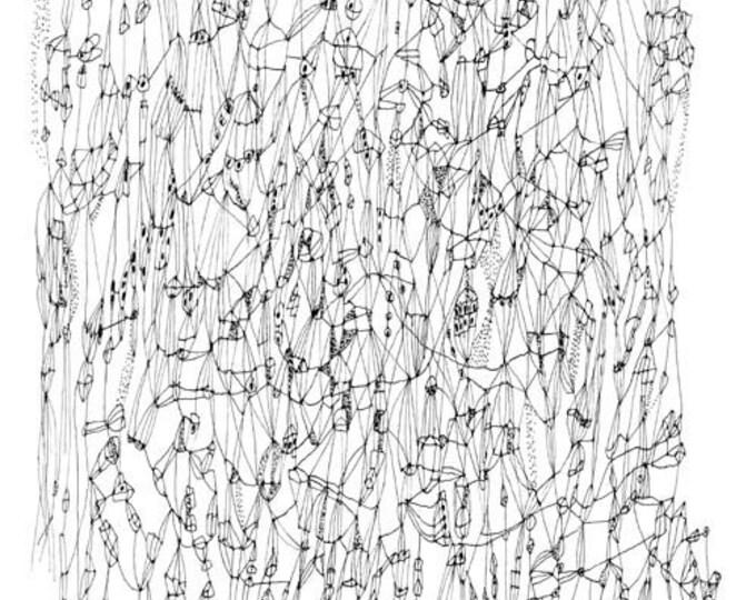 """Star Chart -  12"""" x 18"""" print"""