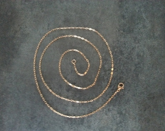 """3 Pack of Gold Stainless Steel Oval Link Chain Necklace - Gold Chain - 18"""" or 24"""" Length"""