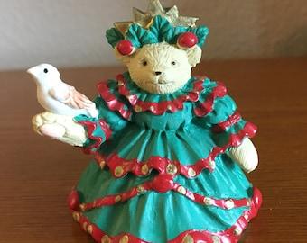 Vintage Muffy Vanderbear Christmas Ornament- Muffy Little Fir Tree, 1992-North American Bear Company