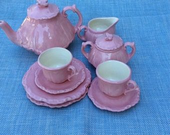 Childrens tea set handmade