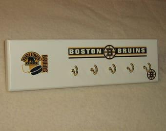 Boston Bruins key rack