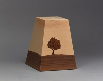 Cremation Urn, Pet urn, Wooden urn
