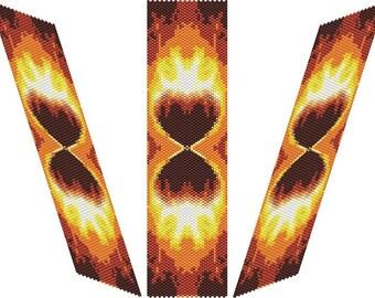 SABLIER D'AMOUR Bracelet - PDF pattern