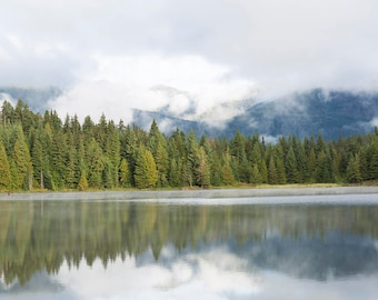 Fog at Lost Lake - Multiple Print Sizes Available