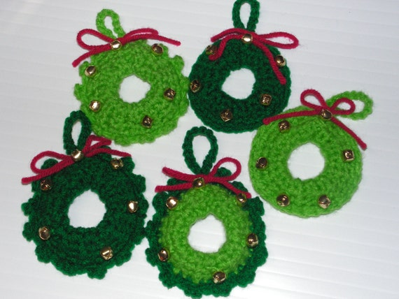 Pdf Download Crochet Pattern Jingle Bells Wreath Us Terms