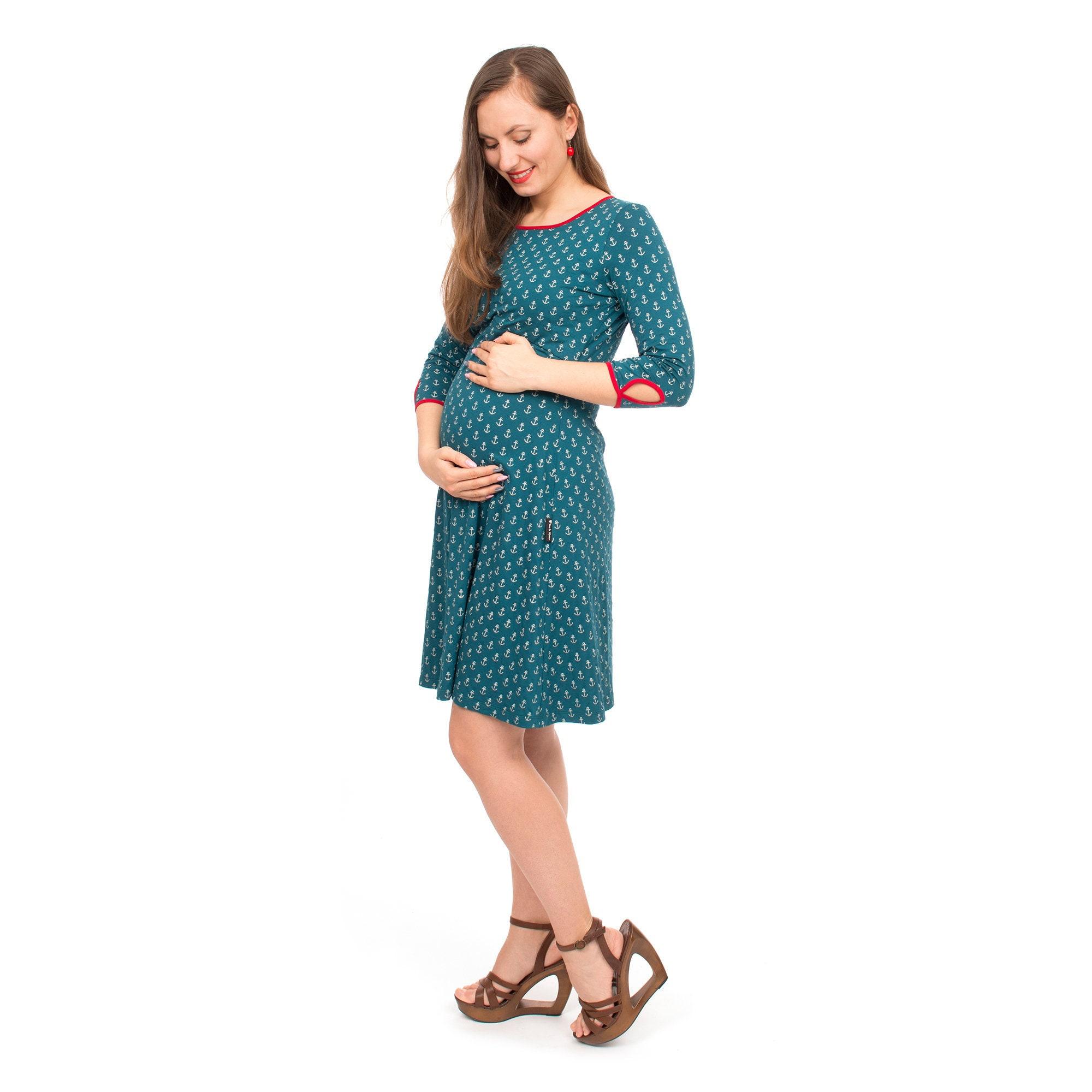 Stillkleid Schwangerschaft Kleid Umstandsmode Umstandskleid