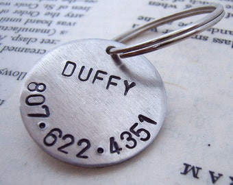 Pet ID Tag - Custom pet tag - Personalized name tag - Custom ID tag