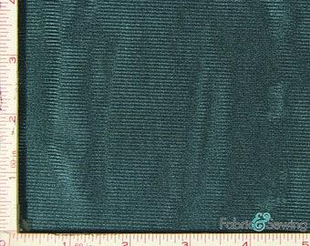 "Dark Hunter Green Tricot Dazzle Mesh Fabric Polyester 7 Oz 58-60"" 193793"