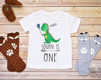 First Birthday Boy, Dinosaur Birthday, Dinosaur Birthday Shirt Boy, Toddler Birthday, Dinosaur Shirt, Dinosaur Onesie®, Dinosaur Gift Boy