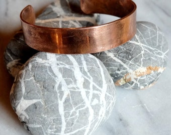 Copper - fire belt bracelet