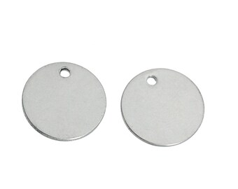 12MM  Stainless Steel Stamping Blanks