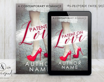 "Premade Digital eBook Book Cover Design ""Patent On Love"" Contemporary Romance Comedy New Adult Fiction"