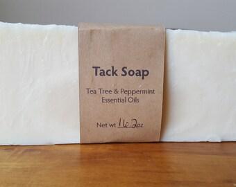 Tack / Saddle Soap - Tea Tree & Peppermint Essential Oils