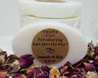 Wedding Soap Favors - Mini Favors - Soap Favors - Guest Soaps - Wedding Favor Soaps - Guest Soap Gift - Wedding Favors
